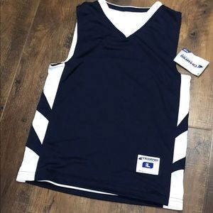 Reversible basketball jersey youth L